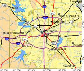 fort worth tx profile population maps real