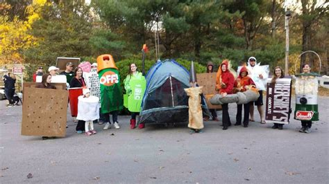 camping check list halloween costume camping themed