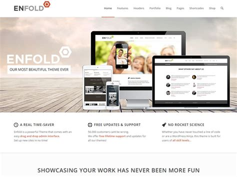 enfold theme header widget 50 small business wordpress themes for startups 2018