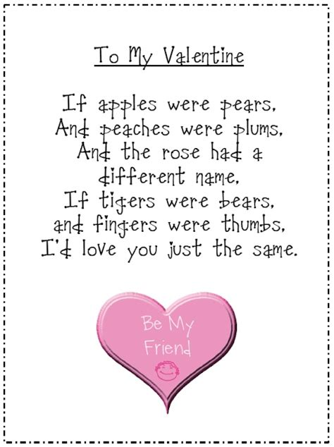 valentines poems cards 17 best images about s day teaching on