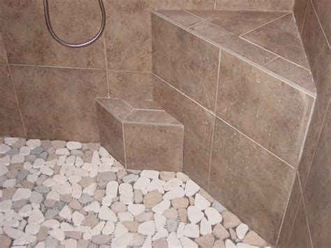 pebble shower floor tile for shower floor houses flooring picture ideas blogule
