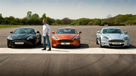 aston martin top gear drives the aston martin virage series 17 episode 2