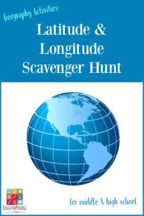 latitude and longitude scavenger hunt education possible