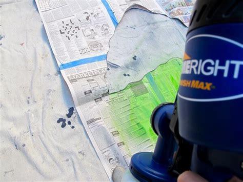 spray paint newspaper how to make a newspaper corn door