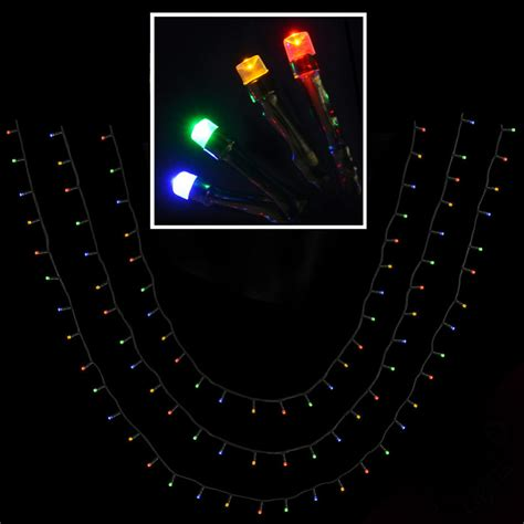 120 multi colour led chasing multi function christmas