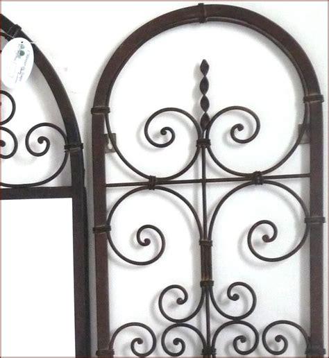 style ancien miroir fenetre en fer forge avec volet porte plante pot mural ebay