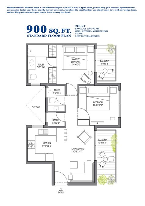 900 sq ft house plans