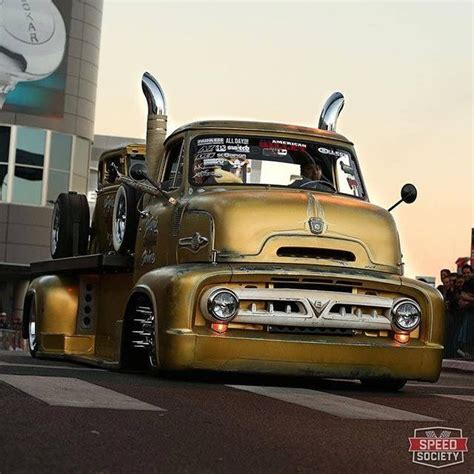 Ford 1956 Hotrod Machines Skala 1 64 224 best images about ford coe s on