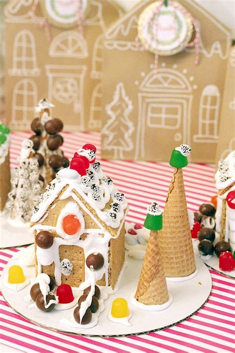 Decorating Ideas Gingerbread Kara S Ideas Gingerbread House Decorating