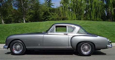 Faux Leather Upholstery Nash Healey Le Mans Coupe Supercars Net