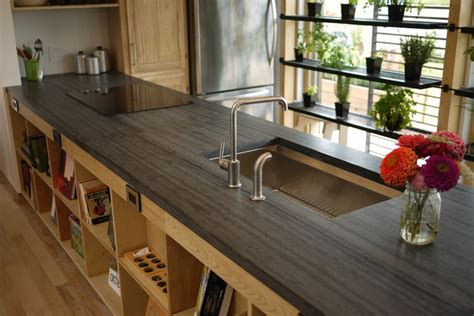 slate countertop kitchen countertops other metro by