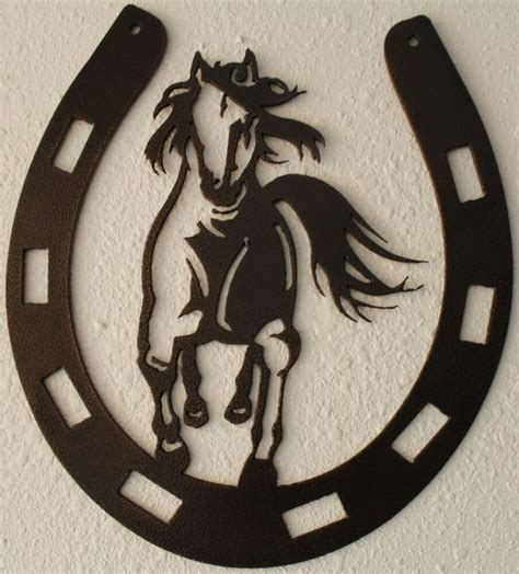 metal home decor horseshoe with metal wall home decor ebay