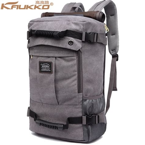 Tidog The New Capacity Traveling On Business Bag Travel Bag kau canvas high capacity travel bag kwnshop