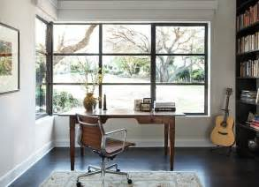 Desk In Front Of Window by Writing Desk Designs To Individualize Your Working Space