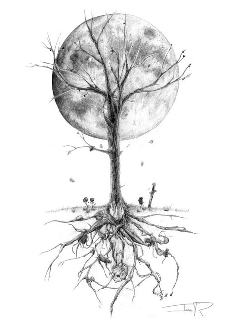 Y Tree Drawing by 25 Beautiful Tree Drawing Exles From Around The World