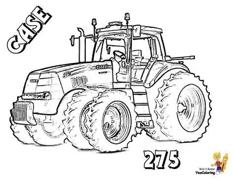 tractor coloring pages tractor printable coloring pages