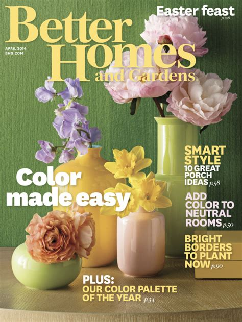 tme better homes gardens tme magazine