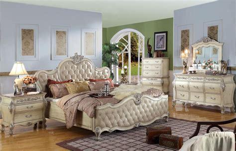 Antique White King Size Bedroom Sets