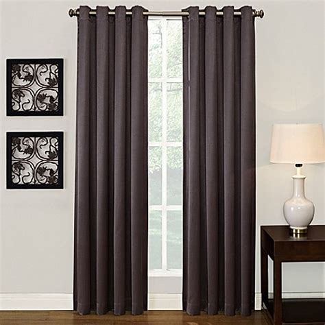 ashton grommet window curtain panel buy ashton 108 inch grommet window curtain panel in
