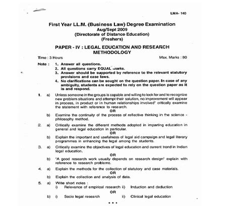sle of methodology in research paper kuvempu 2009 ll m education and research