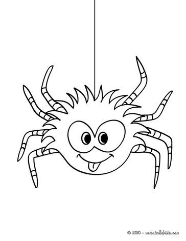 funny spider coloring page picture coloring book funny spider coloring pagehalloween
