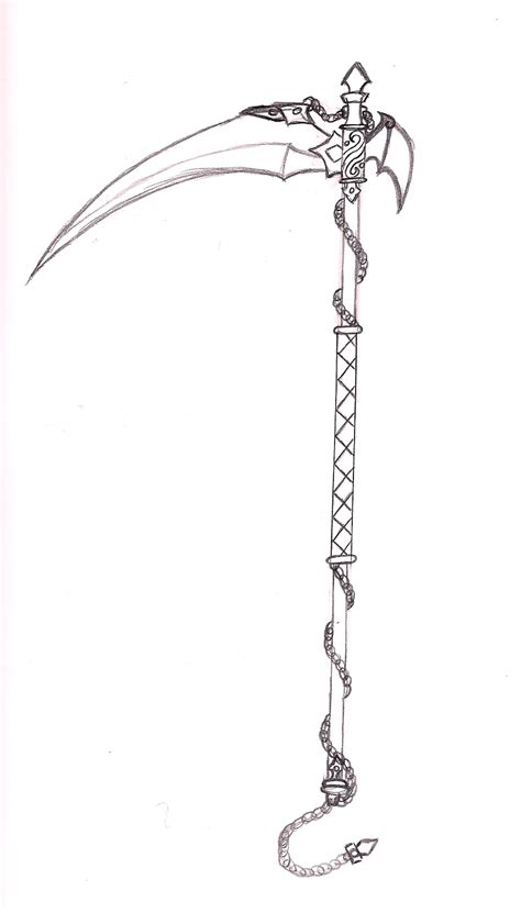 scythe sketch by scorpius02 on deviantart