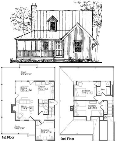 Blueprints For Small Cabins by Best 25 Small Cabin Plans Ideas On Pinterest Cabin