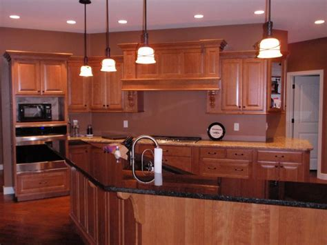 Island For Kitchens cherry cabinets in fort loramie ohio barhorst woodworks