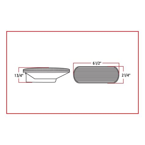 diode cler function clear turn signal marker mirror led oval light 13 diodes