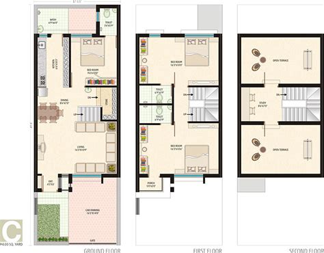 bungalow floor plans india asopalav bungalows in near satya sai heart institute