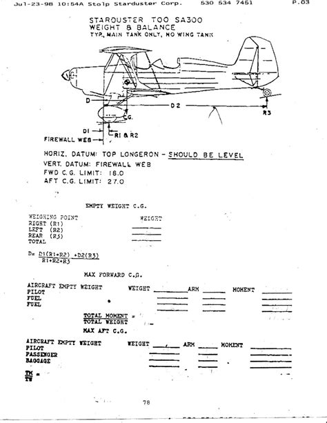 Aircraft Weight And Balance Spreadsheet by Aircraft Spruce And Specialty Co View Topic Weight