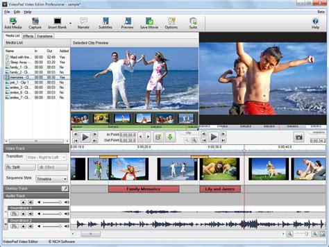 audio video editing software free download full version for windows 7 videopad video editor download
