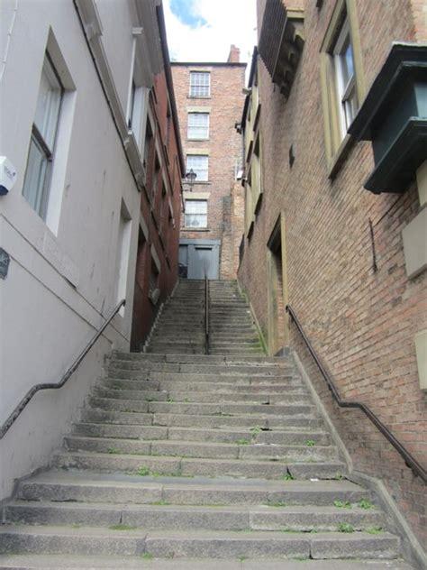 castle stairs newcastle  tyne  graham robson geograph britain  ireland