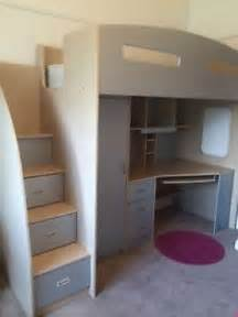 bunk bed and desk loft bunk beds with desk and drawers foter