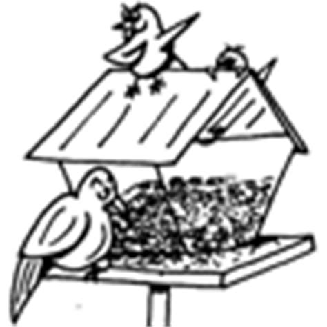 coloring page bird feeder spring coloring pages at squigly s playhouse