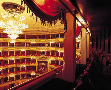 La Scala Interior by La Scala Kicks Its 2010 Opera Season With Wagner S