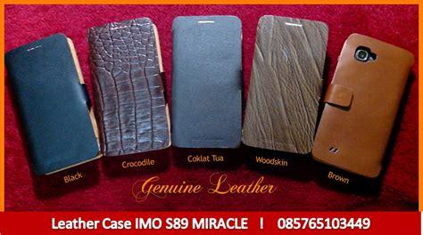 Jual Casing Hp Imo leather imo s89 miracle menjual dan memproduksi