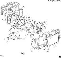 C Chevrolet Parts A C Refrigeration System Front