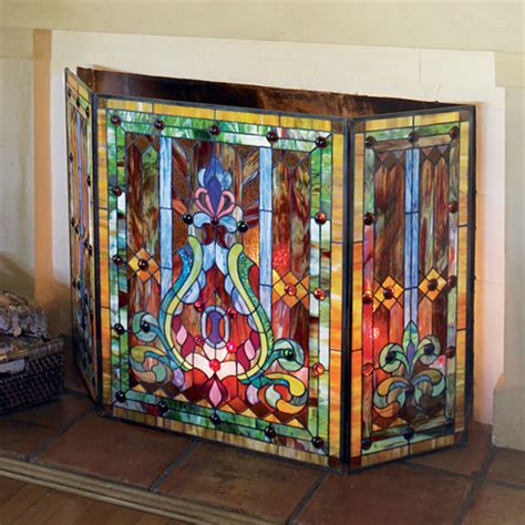 stained glass screen at signals pn7512