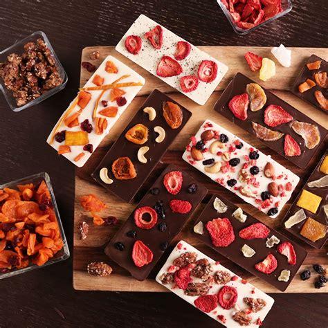 Handmade Chocolate Company - fruit and nut chocolate bars chocolate bar and barking f c