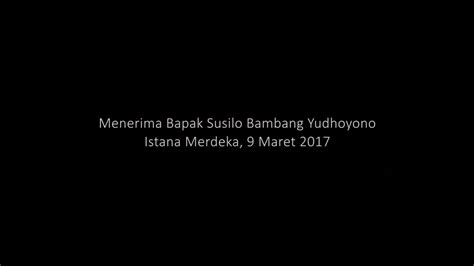 veranda talk veranda talk bersama bapak susilo bambang yudhoyono