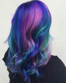 colorful hair styles 25 colored hairstyles long hairstyles 2016 2017