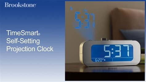 timesmart  setting projection clock youtube