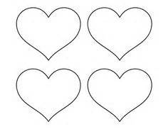 printable full page large heart pattern use the pattern