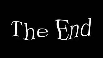 the end text animated motion background videoblocks