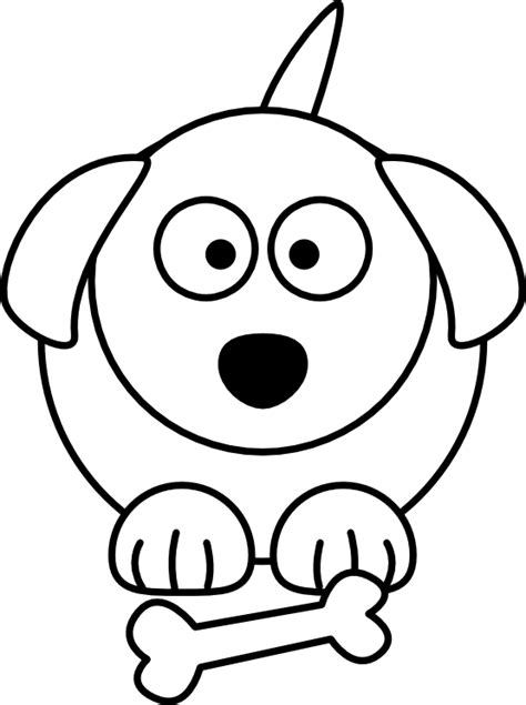 black and white coloring pages of dogs free coloring pages of dogs to drawings