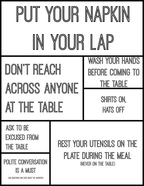 24 basic dining etiquettes 21 best dining etiquette images on pinterest dining