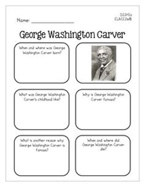 george washington carver biography in spanish george washington carver reading passage washington