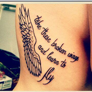 broken wing tattoo 13 gorgeous tattoos inspired by chronic illness