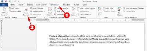 cara membuat footnote di email cara membuat footnote di microsoft word mudah dan gak